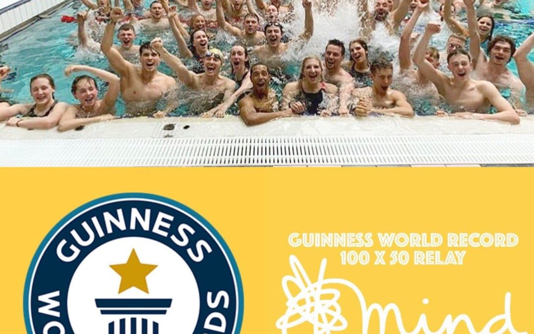 Guiness World Record Attempt 100x50m Relay